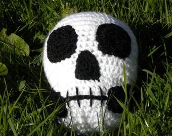 Amigurumi Halloween skull pattern