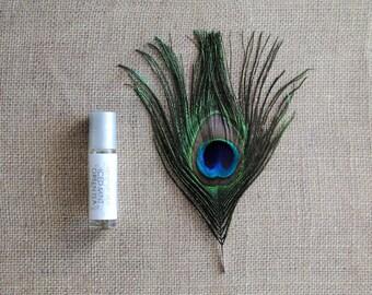 Iced Mint Green Tea Perfume Oil, Roll On Perfume, Fresh, Herbal Herbaceous, Fragrance, Vegan, Silk Road