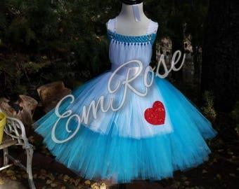 Alice Inspired Tutu Dress