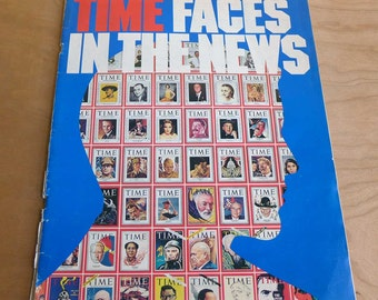 TIME Faces in the News Magazine Covers and Paintings 1923-1976