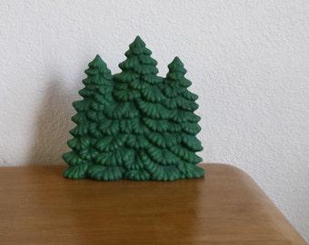 Ceramic Evergreen Trees (#718)