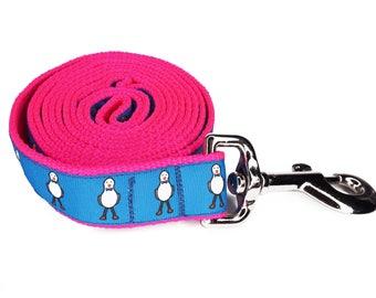 Neon Pink Dapper Leash (Light)