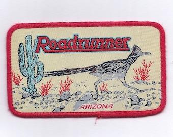 Vintage Arizona Roadrunner Patch