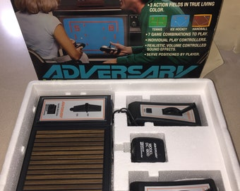 Vintage Adversary National Semiconductor 1976 Video Game Console Model 370 Box