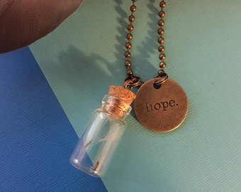 Hope Dandelion Fluff Necklace