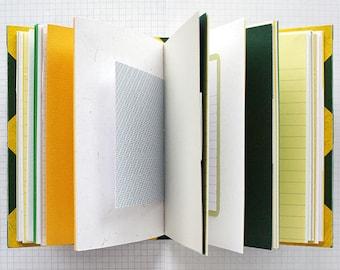 Memento Vivere - Travel Journal - 4.5 x 6 inch A6 - Bucket List Journal