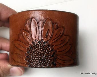 Sunflower cuff