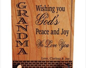 Grandma Gift - Gifts for Grandmother Mothers Day Personalized - Grandma Birthday Gift - Nana Gift, PGM017
