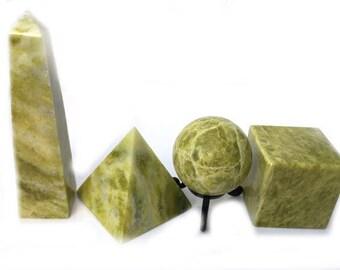 Serpentine freeform - 10x4.5x3cm - 214grams