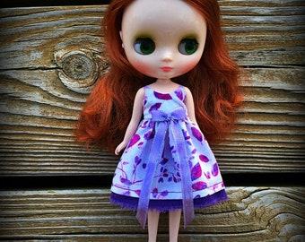Middie Blythe Purple Dress
