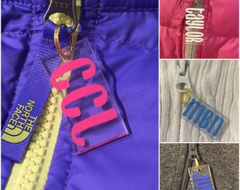 Personalized Zipper Tag