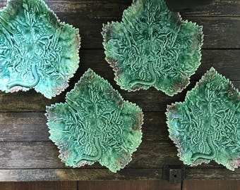Four leaf plates Made in Portugal