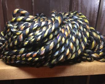 Bumblebee - Hand Spun Art Yarn