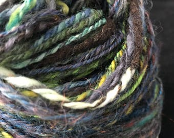 Worsted weight handspun yarn