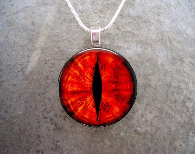 Dragon Eye Jewelry - Glass Pendant Necklace - Dragon Eye 34