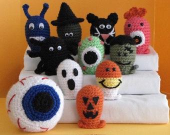 Halloween Bowling Set 1 - Crochet Pattern