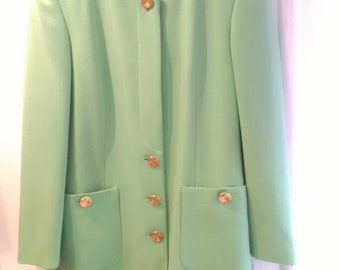 Vintage Escada Coat Size UK 8/10