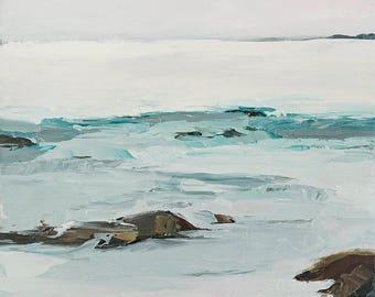 Calming Waters- Bear Lake print on canvas 11x14