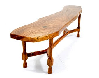 Traditional Old English Elm Table handmade