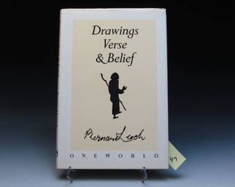 Drawings Verse & Belief by Bernard Leach, 1988 Edition, Very Good Condition in Good DJ, Poetry and Drawings by Leach
