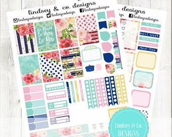 Classic Happy Planner Kit    Be Bright    Printable for Classic Sized Happy Planner