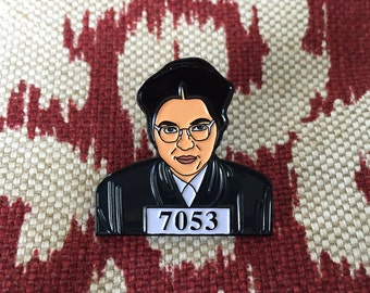 Rosa Parks Lapel Pin - Soft Enamel