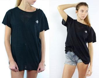 Vintage T Shirt Vintage T-Shirt Vintage Tee Oversize T-Shirt Oversize T Shirt Vintage Jersey Black Vintage Tee 90s T Shirt Streetstyle