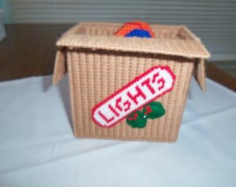Boxed Christmas Lights Coaster Set