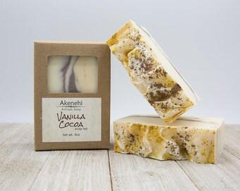 Vanilla Cocoa Soap Bar