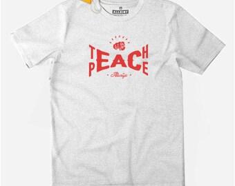 No ban, no wall! No Nations No Borders Refugees Welcome T-shirt
