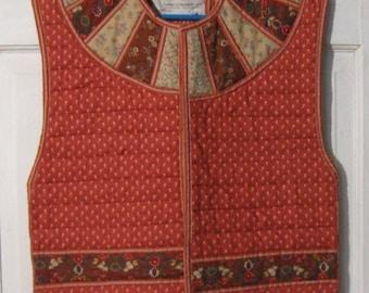 Vintage Suttles and Seawinds Ltd. Women's Cotton Quilted Vest