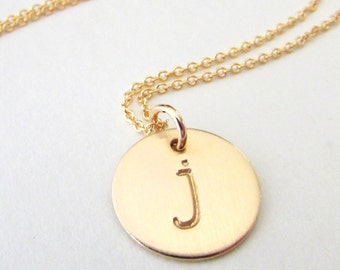 Gold Letter Necklace, Gold Initial Necklace, Gold Letter Charm Necklace, Gold Initial Charm Necklace, Gold Letter Pendant, Gold Letter Charm