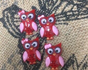 Red owls