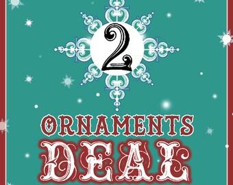 XMAS 2 Ornaments Combo Deal !!