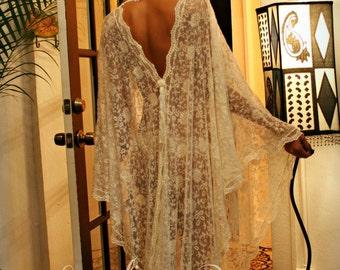 Exklusive Französisch Bestickte Spitze Brautgewand Nachthemd Hochzeit  Nachtwäsche Ivorey Braut Dessous Hochzeits Gewand Paris Schicke Runway