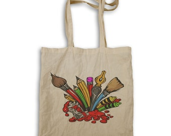 Stationery Writing Painting Tools Tote bag x932r