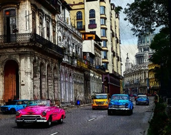 A moment in time in Havana Cuba