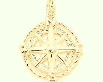 Compass Charm (JC-1147)