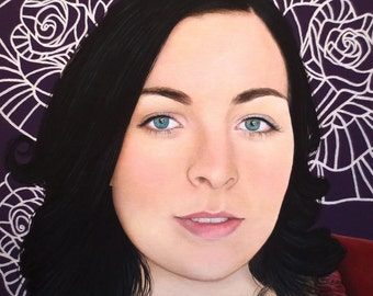 True Beauty - Natashia Heald  -  By Toronto Portrait Artist Malinda Prud'homme