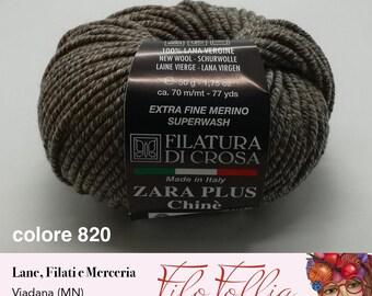Zara plus ball of wool 100% extrafine Merino hypoallergenic