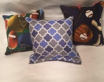3 - Handmade catnip pillow toy