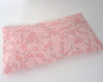 Cherry Blossom Herbal eye Pillow / Relaxing lavender cold / Hot Pillow for your Tired Eyes