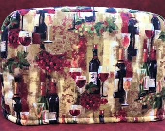 Wine Splendor Reversible 2-Slice Toaster Cover