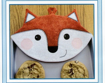 Foxy Hot Pads Potholder Pattern by Susie C. Shore Designs ST1403