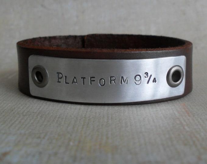 Custom Women's Leather Bracelet Custom Bracelet YOU Design It Womens Gift