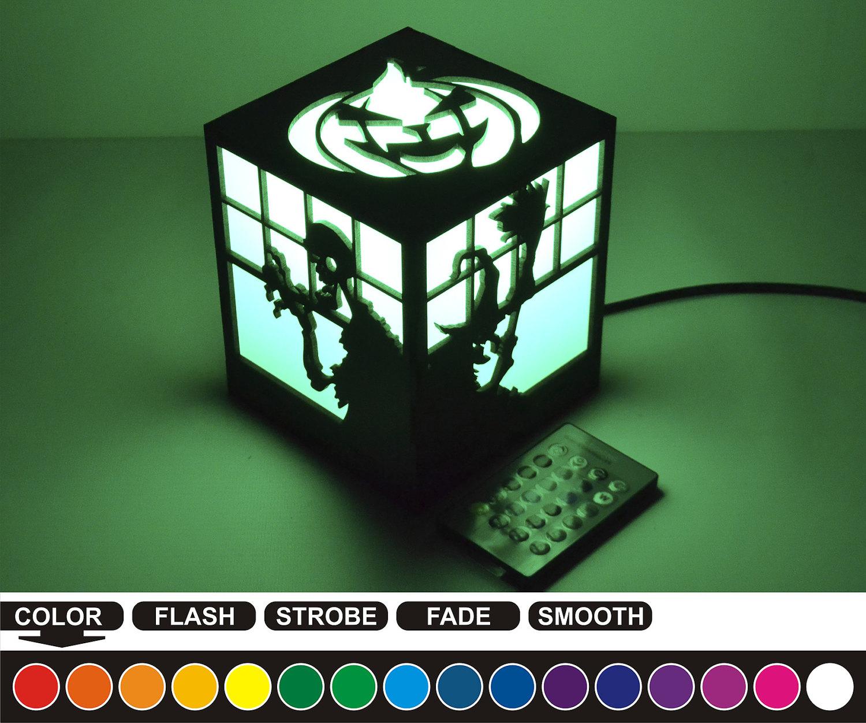 Alptraum vor Weihnachten-RGB-LED-Nachtlampe Nachtlicht für