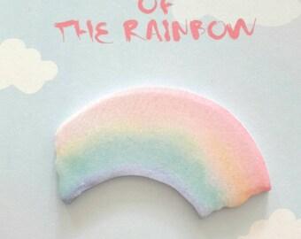 Sticky Notepad scrapbooking, Rainbow stickers