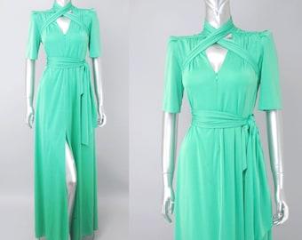 Lucie Ann caftan dress | 1970s maxi dress | vintage 70s caftan