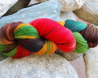 handdyed Yarn, 100g/ 3,5oz , colour 68