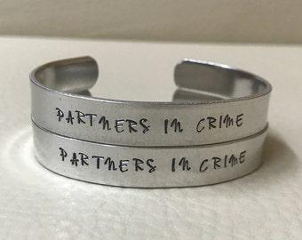 2 Partners In Crime cuffs